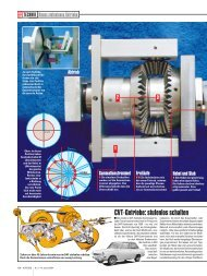 CVT-Getriebe: stufenlos schalten - He-log