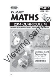 PR-6127UK Primary Maths - Year 2 Book 2