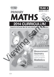 PR-6131UK Primary Maths - Year 4 Book 2