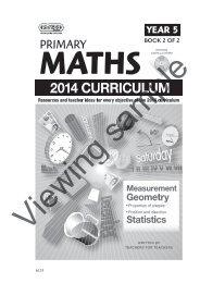 PR-6133UK Primary Maths - Year 5 Book 2