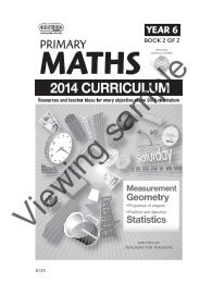 PR-6135UK Primary Maths - Year 6 Book 2