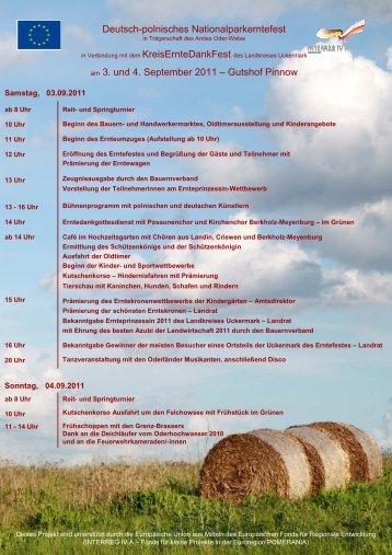 Programm 26 08 2011 - Hemme Milch