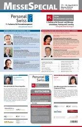 und Unternehmenskultur Recruiting Trends ... - Personal Swiss
