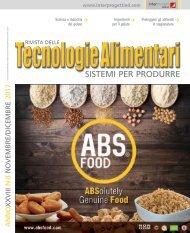 Tecnologie Alimentari 8 Novembre e Dicembre 2017