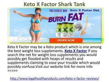 Keto X Factor Diet Shark Tank