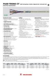 PAAR-TRONIC-CY EMV-Vorzugstype, flexibel ... - HELUKABEL