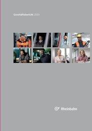 Geschäftsbericht 2009 - Rheinbahn