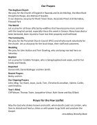 St Mary Redcliffe Church Pew Leaflet - July 29 2018  - Page 5