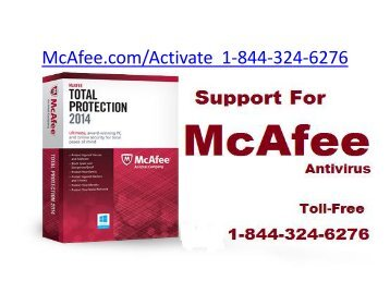 Mcafee Retail Card | 1-844-324-6276 | Mcafee Activate