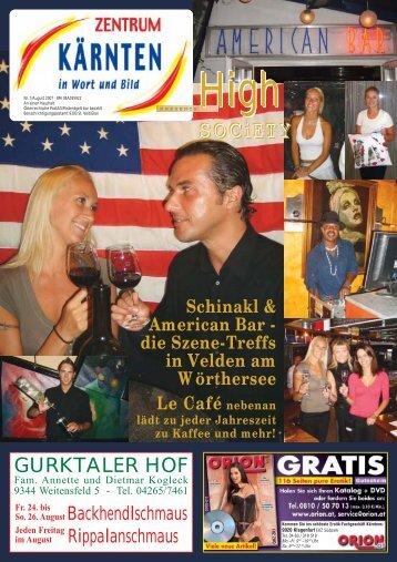 Ausgabe 07.2007 (PDF-Format, ca. 1,9 MB - Zentrum Kärnten in ...
