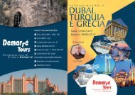 Peregrinação a Dubai, Turquia e Grécia