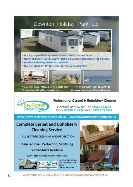 The Village Voice: August September 2018, Milford on Sea