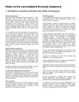 BANCO MERCANTIL (SCHWEIZ) AG ZURICH Report of the Group ... - Page 6