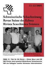 Das Porträt: Manfred Zucker, Chemnitz. in - Schweizer Schachbund