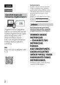 Sony ILCE-7M2K - ILCE-7M2K Mode d'emploi Lituanien - Page 2