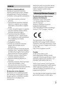 Sony ILCE-7M2K - ILCE-7M2K Mode d'emploi Lituanien - Page 3