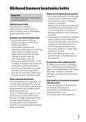 Sony ILCE-7M2K - ILCE-7M2K Mode d'emploi Estonien - Page 7
