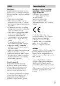 Sony ILCE-7M2K - ILCE-7M2K Mode d'emploi Slovénien - Page 3