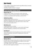 Sony ILCE-7M2K - ILCE-7M2K Mode d'emploi Slovénien - Page 5