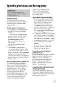 Sony ILCE-7M2K - ILCE-7M2K Mode d'emploi Slovénien - Page 7