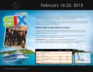 PRICES StaRt at lESS thaN $163 a DaY! - Paradise Tours & Travel