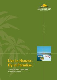 Live in Heaven. Fly in Paradise. - airpark costa rica