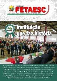 Jornal Fetaesc | Edição 06/2018