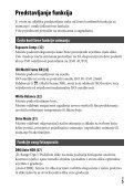 Sony ILCE-7M2K - ILCE-7M2K Mode d'emploi Croate - Page 5