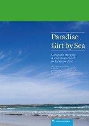 Paradise Girt by Sea - Economic Development Board South Australia