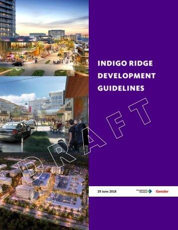 2018 06 29 Indigo Ridge Guidelines Draft 01