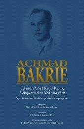Achmad Bakrie - Bakrie & Brothers
