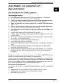 Sony VPCL11S1E - VPCL11S1E Documents de garantie Suédois - Page 5