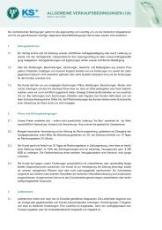 ALLGEMEINE VERKAUFSBEDINGUNGEN (1|4) - Hermann Peter KG