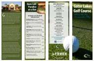 Gator Lakes Golf Course - Hurlburt Field 1st Special Operations ...