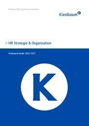 HR Strategie & Organisation 2010/2011 - Kienbaum