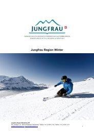 Jungfrau Region Winter - Grindelwald