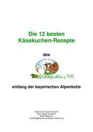 Die 12 besten Käsekuchen-Rezepte - entlang der bayerischen