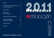 Mediadaten - PRMagazin
