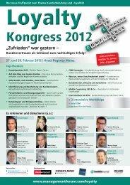 27. und 28. Februar 2012 - Management Forum