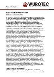 Kostenfalle Wurzelstockrodung - Die WURZELRATTE