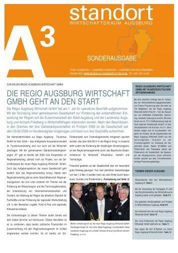 standort Ał Sonderausgabe - im Wirtschaftsraum Augsburg.