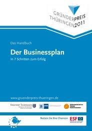 Der Businessplan - bm|t · beteiligungsmanagement thüringen GmbH