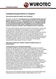 Komplettrodungsverfahren im Vergleich - Die WURZELRATTE