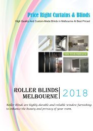 Enhance Your Home's Privacy and Beauty With Roller Blinds