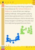 After School Childcare Activities That Aids in Their Development - Page 4