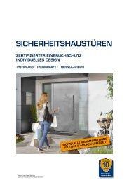 Katalog HÖRMANN Aktions-Sicherheitshaustüren