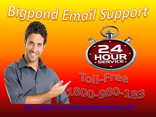 Handover All Issue To Bigpond Email Support Team Via 1-800-980-183