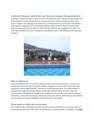 Celebrate Monsoon with Best 5 star Hotel in Udaipur