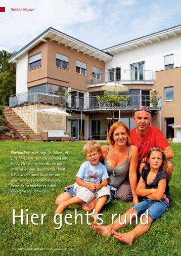 PR-Bericht WOLF Haus - Familie Lair - Wolf System GmbH