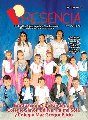 Revista Presencia Acapulco 1109